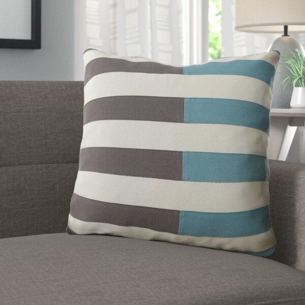 Mayne 100% Cotton Throw Pillow by Langley Street